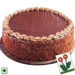 Cake for You - Magic of Chocolate (Eggless) 1 Kg + Card