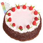 Five Star Bakery - Sweet Strawberry 1 Kg and Card