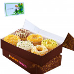 Appetizing Combo - 6 Assorted Doughnuts and Card