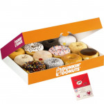 Yummy Combo - 12 Assorted Doughnuts and Card