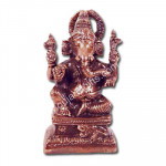 Ganesh Idol and Card