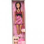 Barbie In Maroon Dress