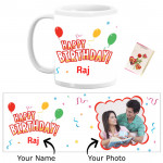 Personalized Birthday Mug & Card