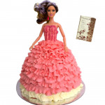 Fancy Doll Cake 2 KG