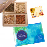 Choco Nutty - Celebrations 121 gms, Assorted Dryfruits 400 gms