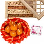 Laddu n Nuts - Kanpuri Laddu 250 gms, Assorted Dryfruits 400 gms