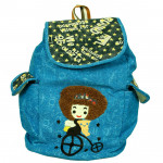 Blue School Bag (14 inch by 10 inch)