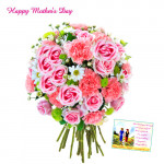 Bouquet for You - Bouquet of 50 Assorted Flowers and Card