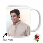 Hey Bro you are Awesome Personalized Mug & Card
