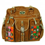 Brown Handbag (10 inch by 13 inch)