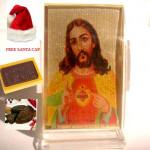 Acrylic Jesus Car Stand