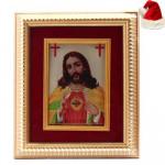 Gold Plated Jesus Frame