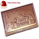 Merry Christmas Chocolate Bar Small