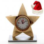 Gold Star Clock