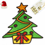 X'mas Tree Glass Stickers