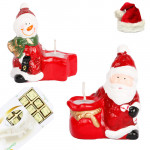 Set of 2 Santa Candles