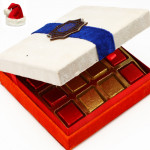Christmas Gifts Chocolates -White Chocolate Box