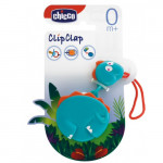 Chicco Safety Clip Clap Universal Clip with Chain Soother