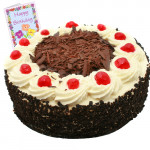 Black Forest Cake 2 Kg + Card