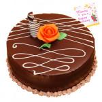 Chocolate Cake 1.5 Kg + Card