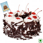 Black Forest (Eggless) 1 Kg + Card