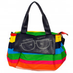 Multicolor College Bag (12 inch by 14 inch)