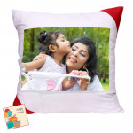 Cushion with Photo & Card