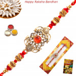 Antique Diamond & Stone Rakhi