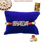 Premium Bhaiya Diamond Rakhi
