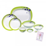 Milton Melamine Dinner Set 31 pcs
