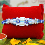 Premium Pearls & Bead Fancy Rakhi
