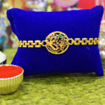 Om Gold Plated Rakhi