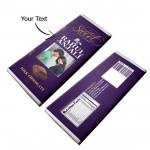 Personalized Dairy Milk Chocolate (Big - 160 grams) & Card