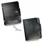 Visiting Card Holder with Button & Card