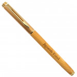 Personalized Golden Pen & Card