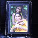 Big LED Frame - 8.25 inches X 11.65 inches & Card