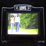 Love LED Frame - 6 inches X 8 inches & Card