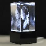 3D Small Crystal Box & Card