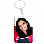 Rectangular Acrylic Photo Keychain & Card