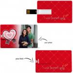 Credit Card Pen Drive 8 GB & Card