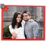 Personalized Wooden Jigsaw Puzzle - 8 inches X 10 inches & Card