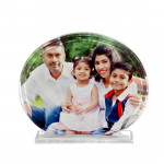Oval Photo & Card