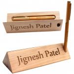 Personalized Pen Stand cum Pen Case & Card