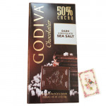 Godiva Chocolatier - Dark Chocolate Sea Salt 100 gms