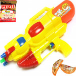 """13"""" Air Pressure Water Gun Ap-023 Three Shooter Single Gun with Holi Gujiya Sweets"""