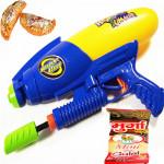 "13"" Air pressure Water Gun Ap-069 Single Gun with Holi Gujiya Sweets"