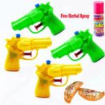 4 Water Guns single set with Holi Gujiya Sweets