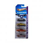 Hot Wheels 4 Car Pack