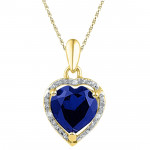Fragrance Of Love Diamond Pendant