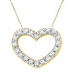 Valentines Special Sweet Heart Diamond Pendant